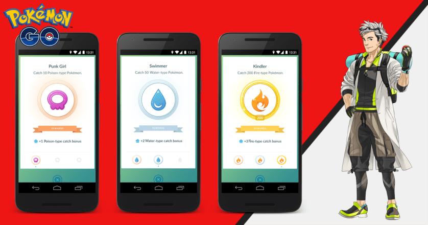 Pokémon GO Catch Bonus (Source: Niantic Labs)