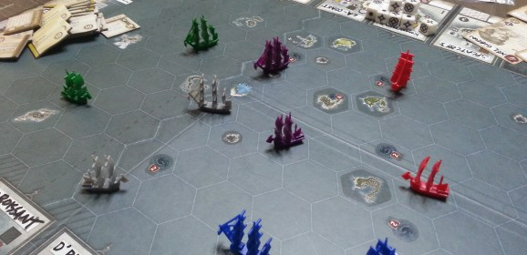 Cult of the New: SeaFall Boardgame Makes a Landing on Philippine Shores!