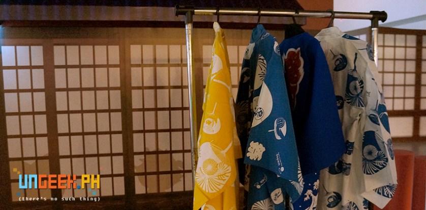 Yukata (浴衣?) is a Japanese garment, a casual summer kimono