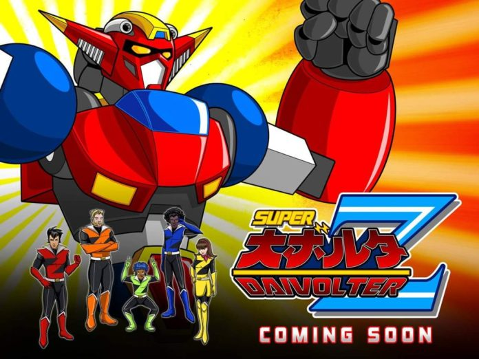 Super Giant Robot Daivolter Z!!!!