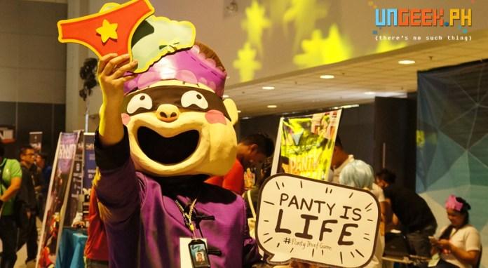 Beware the Panty Thief! :D