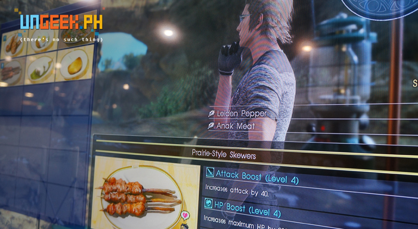 Ignis contemplates on serving.... ANAK MEAT to everyone (with Fava Beans and Chianti of course)