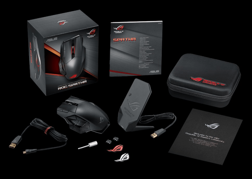"Behold the ROG ""Spatha"", the gaming mouse that will give you an unfair advantage for your favorite MMO' class="