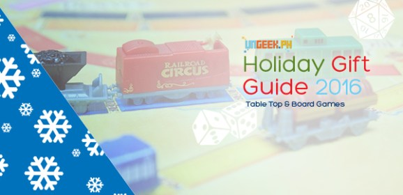 'Tis The Season of Giving, Geeking and GAMING! Check Out Our 2016 Board Game Gift Guide!