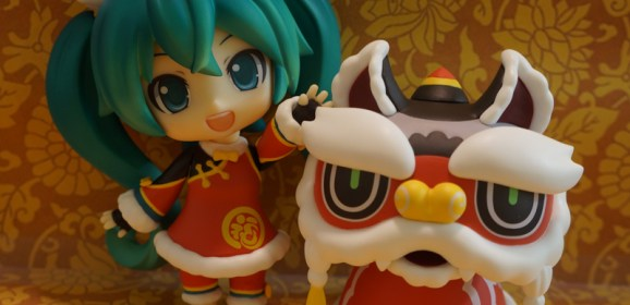 Ring in the Chinese New Year Vocaloid-style with the Hatsune Miku Lion Dance Nendoroid!