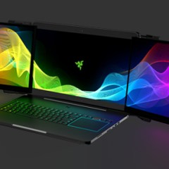 Behold! Razer Introduces the World's 1st Triple-Monitor Gaming Laptop!