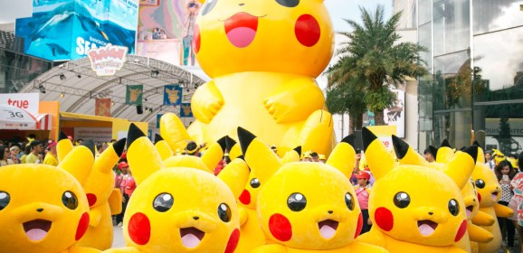 Happy Pokémon Day! Join the Celebration with 'Pokémon GO' Pikachu Hunt !