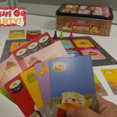 Double the fun with 'Sushi Go Party!' tabletop game!