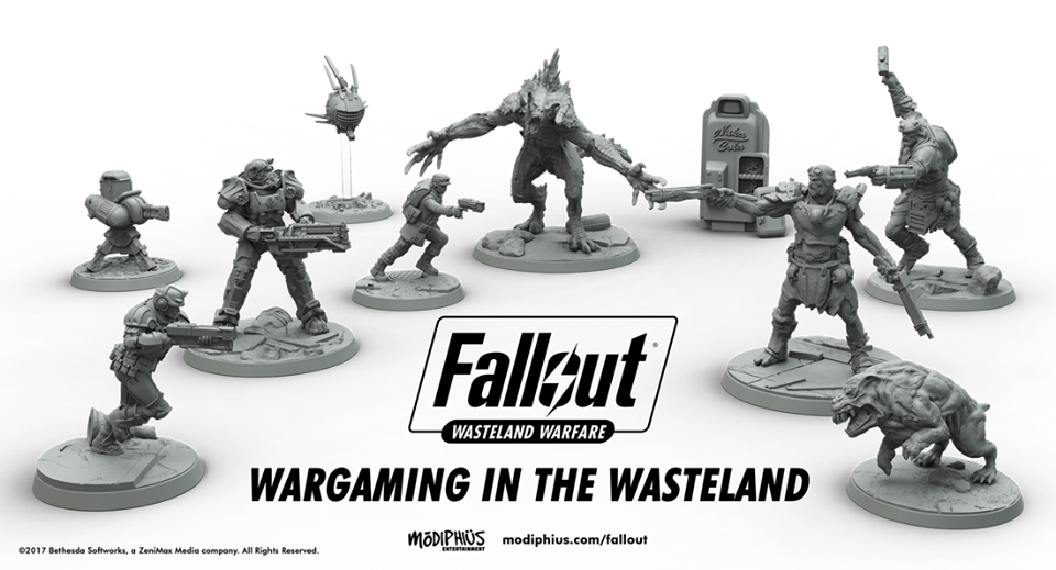 War... Wargaming Never Changes | Fallout Tabletop Game Announced