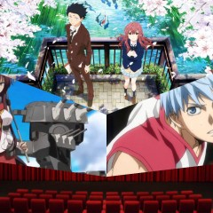 A Silent Voice, Kuroko's Basketball, and Kantai Collection the movie ALL this May.