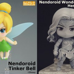 Nendoroid Girl Power! Good Smile Company Reveals 'Tinkerbell' and 'Wonder Woman' at SDCC 2017!