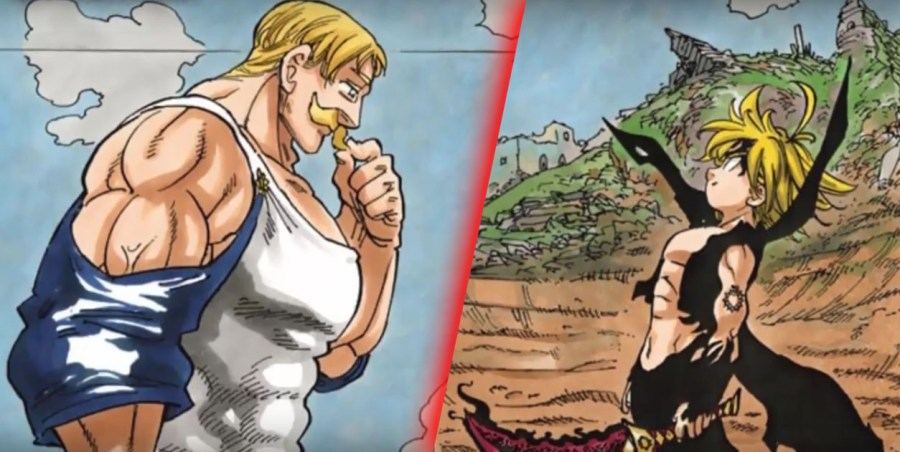 \u201cThe Strongest VS the Most Evil\u201d continues as Escanor vs Meliodas continue their battle in The Seven Deadly Sins manga!