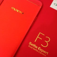SM Aura Sizzles as OPPO outs the F3 Red Limited Edition during the opening of another Concept Store!