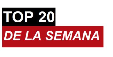 Top 20 julio 25 de 2015