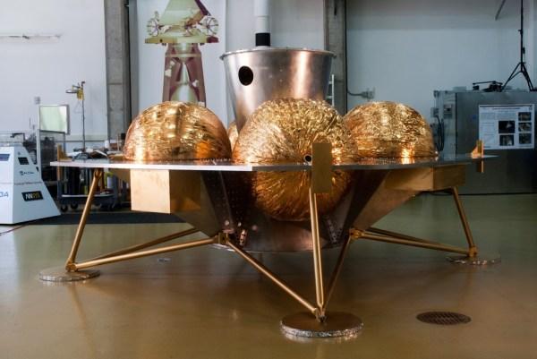 prototipo de la nave que va a llevar la capsula dream