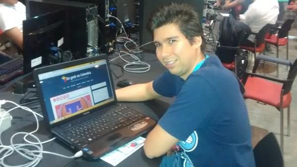 Un geek en Colombia en campus party