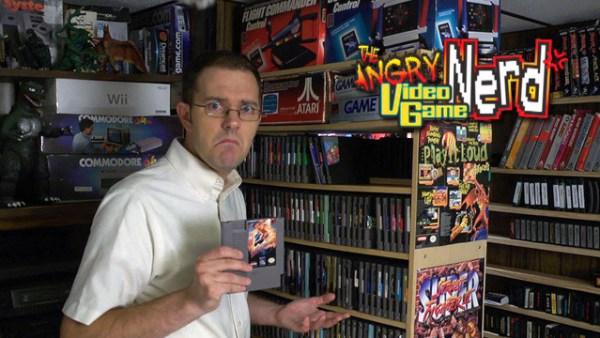 angry video game nerd coleccion de juegos