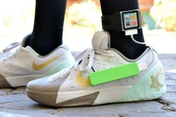 zapato genera energía al caminar