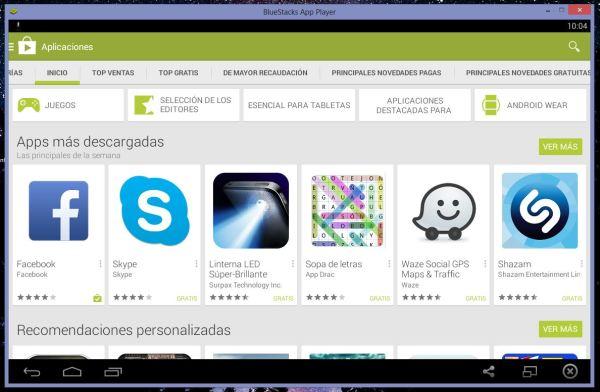 BlueStacks, uno de los mejores emuladores de Android para PC