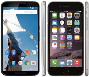 Nexus 6 vs iPhone 6 Plus