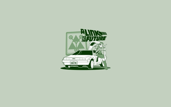 minimalistic link funny back to the future the legend of zelda_wallpaperswa.com_81