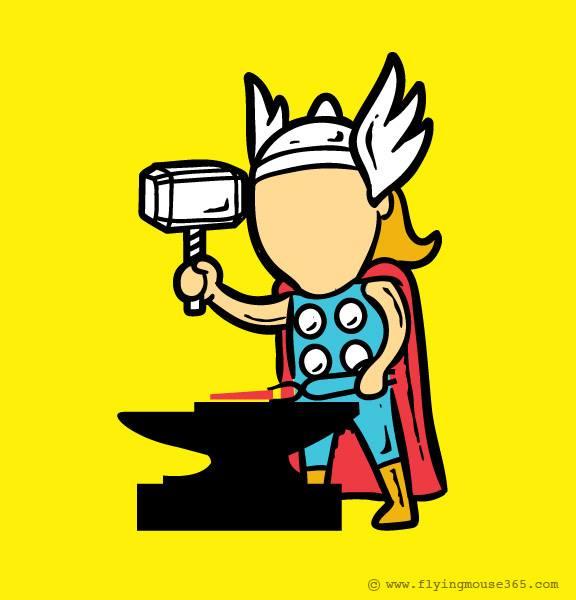Humor Geek 11.0 Super Héroes edition