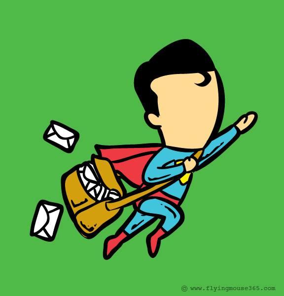 Humor Geek Super Héroes edition