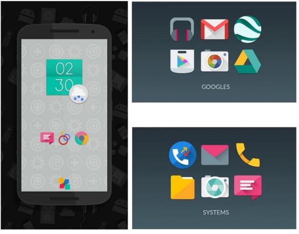 6 excelentes Icon Packs tematicos para tu Android