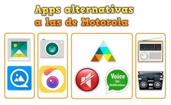 Apps alternativas a las de Motorola en el Moto G GPE