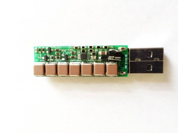 USB Killer es una memoria USB que frita tus puertos USB