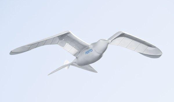 Festo, una compañía que se inspira en la naturaleza para hacer los más increíbles robots