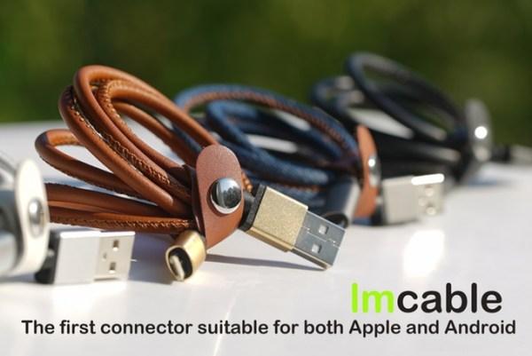 LMcable al fin un único cable para cargar todos tus dispositivos