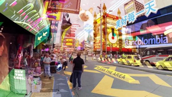 Este video muestra lo asfixiante que la realidad aumentada podría llegar a ser algún día