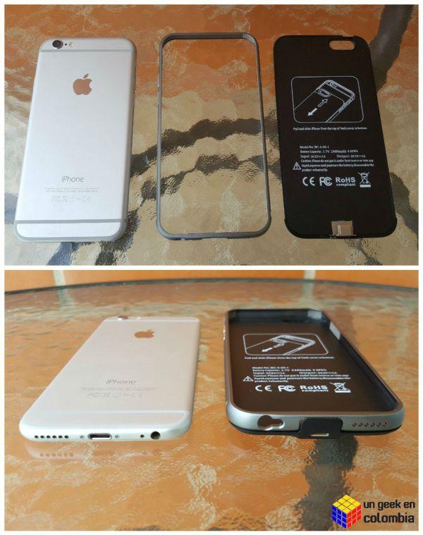 Innoants Power Case es una curiosa carcasa protectora para el iPhone 6 que además es una batería externa