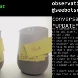 Esta podría ser la primera conversación sin fin entre dos Google Home