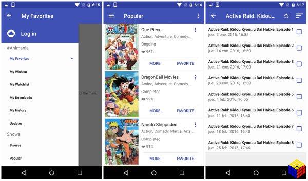 4 excelentes apps para ver anime en Android (edición 3)