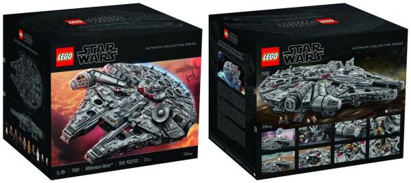 El Ultimate Collectors Millennium Falcon de LEGO, es el set más grande con 7.500 piezas