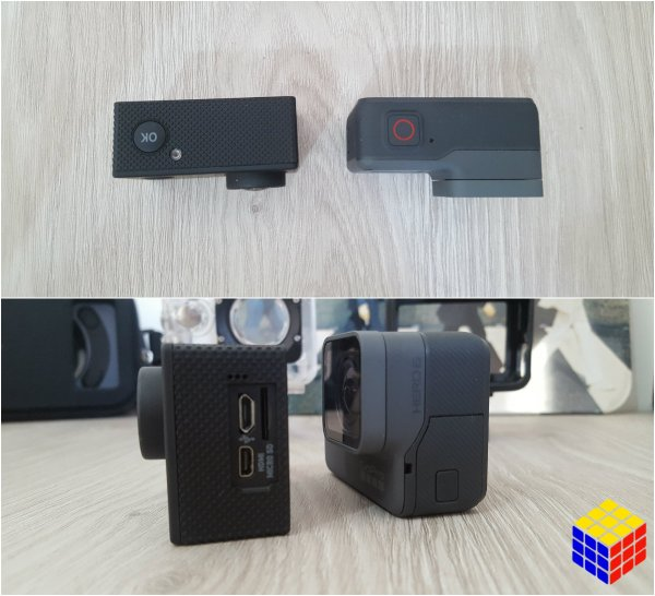 GoPro Hero 6 Black VS Elephone ELE Explorer 4K