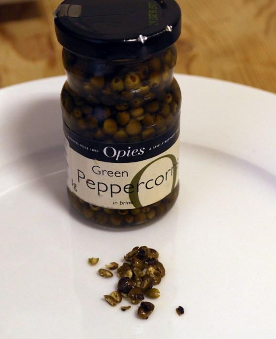 Grønn pepper gir en veldig god smak.