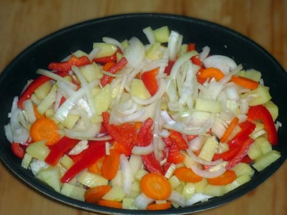 Bruk de grønnsakene du liker.