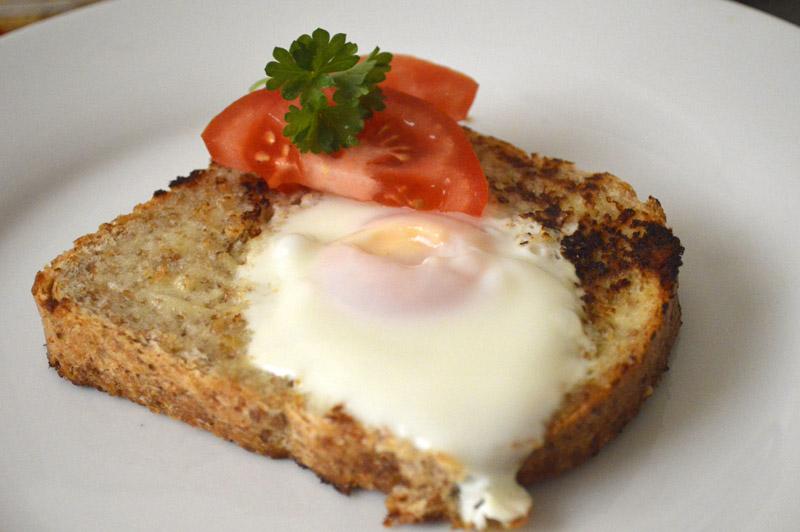 Egg i hull med parmesan-majones