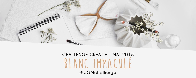 Challenge créatif Blanc immaculé : mai 2018 - Un Grand Marché
