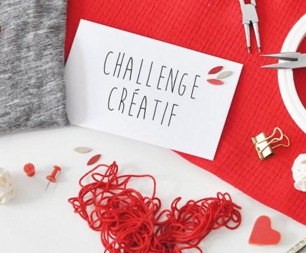 Challenge créatif rouge - Un Grand Marché