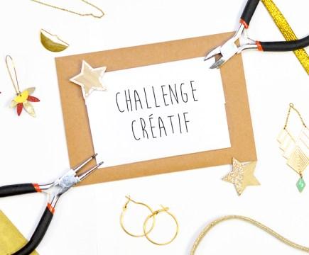 Challenge créatif doré - Un Grand Marché