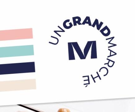 Un Grand Marché - nouveau logo