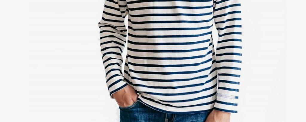 Iconique marinière : tricot rayé, tendance, décryptage - Un Grand Marché