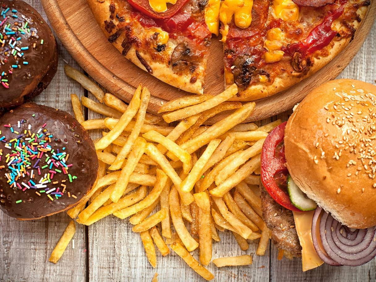 Junk Food Amp Psychological Distress