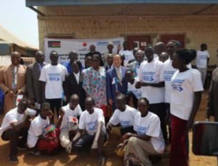 UN Habitat opens a 'One Stop Youth Centre' in Wau, South