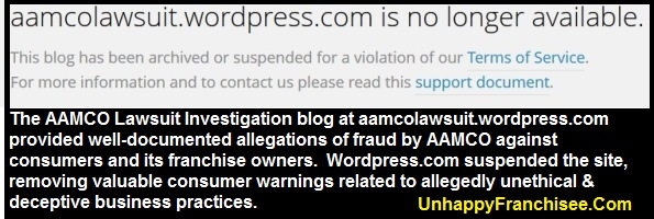 AAMCO Lawsuit Investigation