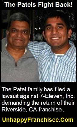 7-Eleven Patel Lawsuit
